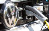 Volkswagen Passat GTE Estate 2019 first drive review - charging port