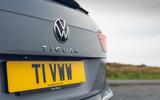 12 Volkswagen Tiguan 2021 UK FD rear badge