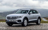 Volkswagen Touareg 2020 UK first drive review - static
