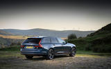 Volvo V90 Recharge T6 2020 UK first drive review - static rear