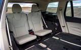 Volvo XC90 B5 petrol 2020 UK first drive review - back row