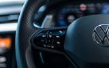 12 VW arteon R Shooting Brake 2021 UK FD steering wheel