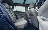 12 VW Golf Estate 2021 UK FD rear seats