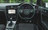 Volkswagen Golf R Estate performance pack 2018 UK review dashboard