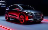 Audi Q4 E-tron - static front