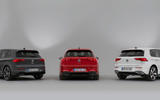 Volkswagen Golf GTD GTI and GTE 2020 - stationary rears