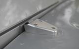 Defender hearse conversion - hinge