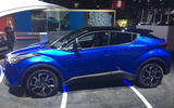 Toyota C-HR at the Paris motor show 2016 - show report and gallery