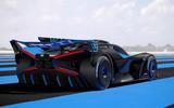 Bugatti Bolide rear side