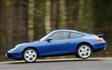 Porsche 911 (996) - tracking side