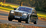 Rolls-Royce Phantom - tracking front