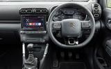 12a Citroen C3 Aircross 2021 UK FD dashboard auto