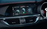 Alfa Romeo Stelvio Quadrifoglio 2020 UK first drive review - infotainment