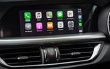 Alfa Romeo Stelvio Sprint 2020 UK first drive review - infotainment