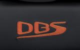 Aston Martin DBS Superleggera Volante 2019 first drive review - seat stitching