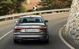 Audi A4 2019 first drive review - on the road rear