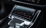 Audi A8 60 TFSIe 2020 UK first drive review - climate controls