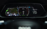 13 Audi E tron S Sportback 2021 UK first drive review instruments