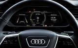 Audi E-tron S Sportback 2020 first drive review - instruments