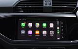 Audi Q3 Sportback 2019 UK first drive review - CarPlay
