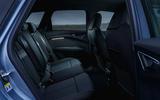 13 Audi Q4 etron 2021 UK FD rear seats