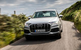 Audi Q7 2019 first drive review - on the road nose
