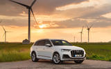 13 Audi Q7 TFSIe 2021 UK FD static