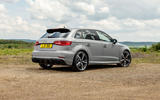 Audi RS3 Sportback 2019 UK first drive review - static rear