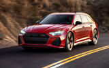 Audi RS6 Avant 2019 first drive review - on the road front