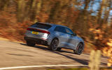 Audi RS Q8 2020 UK first drive review - on the road rear