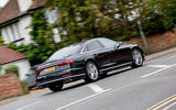 Audi S8 2020 UK first drive review - on the road rear