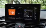 13 Audi SQ5 TDI 2021 UK FD infotainment