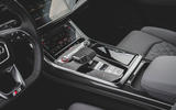 Audi SQ7 2020 first drive review - centre console
