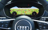 Audi TT Roadster 2019 UK first drive review - virtual cockpit