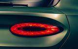 Bentley Bentayga facelift - rear light
