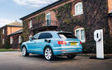 Bentley Bentayga Hybrid 2020 UK first drive review - static rear