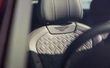 13 Bentley Fyling Spur V8 2021 UK review seats