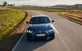 BMW 4 Series 2020 first drive review - on the road nose