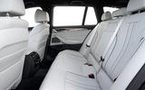BMW 5 Series 2020 UK (LHD) first drive review - rear seats
