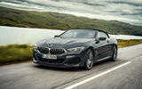 BMW 8 Series Convertible 850i 2019 first drive review - on the road roof up