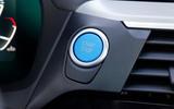 BMW iX3 2020 first drive review - start button
