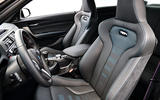 BMW M2 Competition 2018 first drive review seats