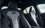 BMW M3 CS 2018 review front seats