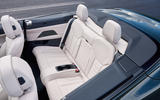 13 BMW M440i Convertible 2021 first drive review rear seats
