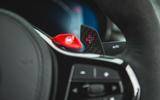 13 BMW M5 CS 2021 UK FD paddles