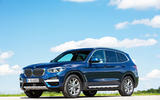 BMW X3 xDrive30e 2020 first drive review - static front