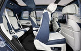 BMW X7 2019 first drive review - second row seats