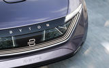 Byton K-Byte saloon concept smart surface front bumper