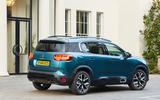 Citroen C5 Aircross 2019 UK first drive review - static rear