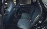 13 Cupra Formentor VZ2 2021 UK first drive rear seats